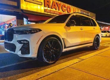 RAYCO BMW X7 ASANTI WHEELS