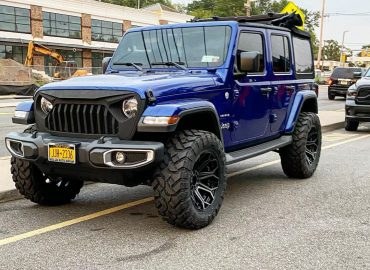 RAYCO JEEP WRANGLER WHEELS AND GRILLE